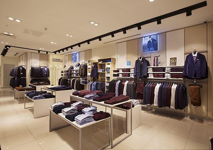 135af5e99c1 Солидный дизайн магазина классической мужской одежды