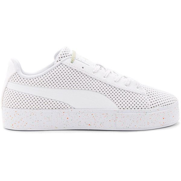Puma Knitted Platform Sneakers