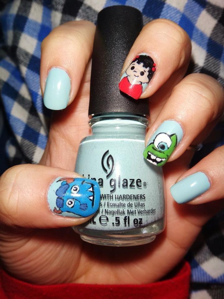 China Glaze - Kinetic Candy Sulley (Kitty), Boo, and Mike Wazowski ...
