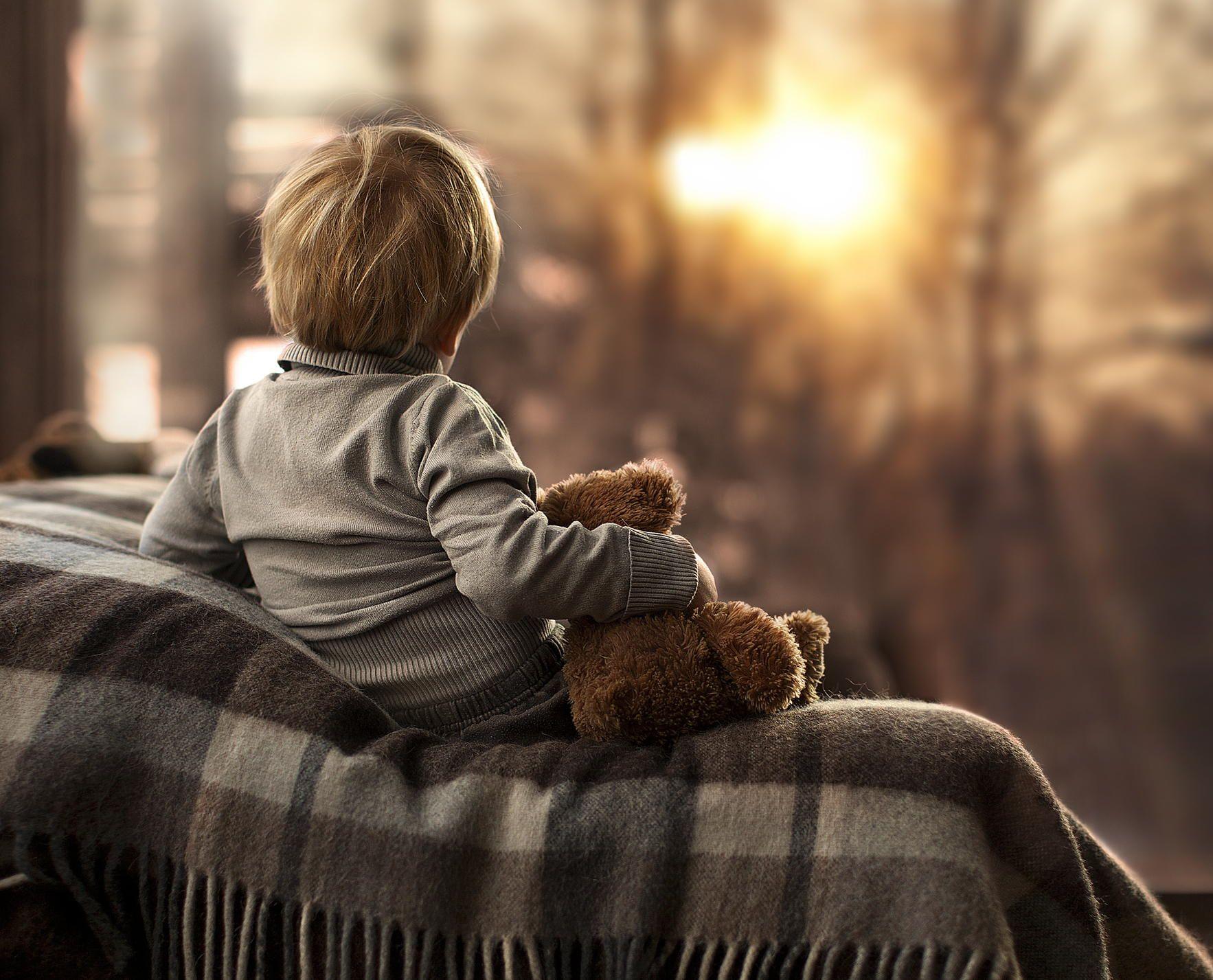 Kid,little boy. The winter sunrise by Elena Shumilova on 500px