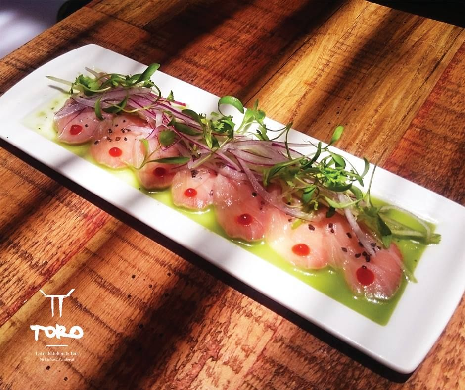 Toro By Richard Sandoval Has The Perfect Tiradito De Hamachi You Will Love It Seafood Foodie Richardsandoval Loscabos Latin Kitchen Latin Cuisine Food