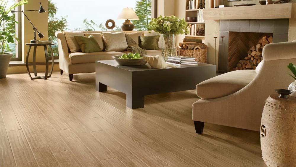 living room hardwood floor ideas | Ideas: Sleek Kitchen Living Room ...