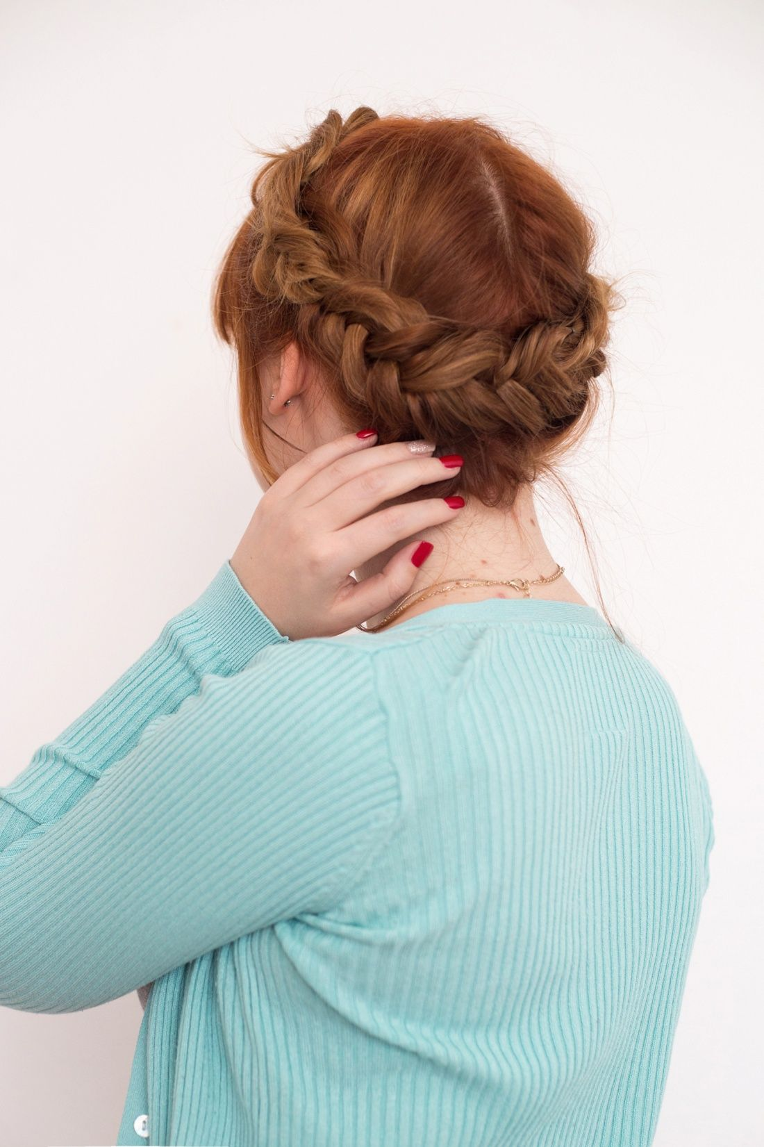 Bookmark This Star Wars Inspired Messy Fishtail Crown Braid Princess