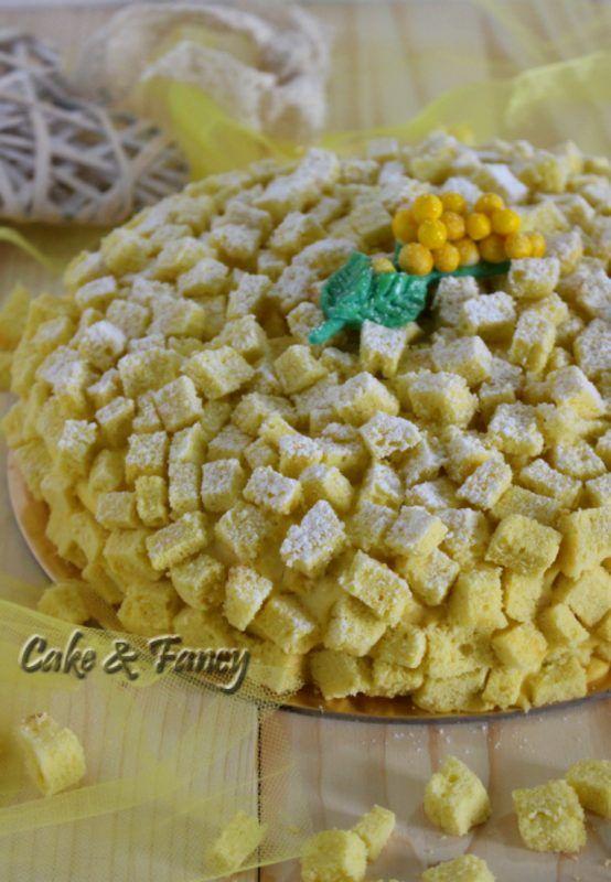 Torta Mimosa Ricetta Classica Con Crema Diplomatica Ricette