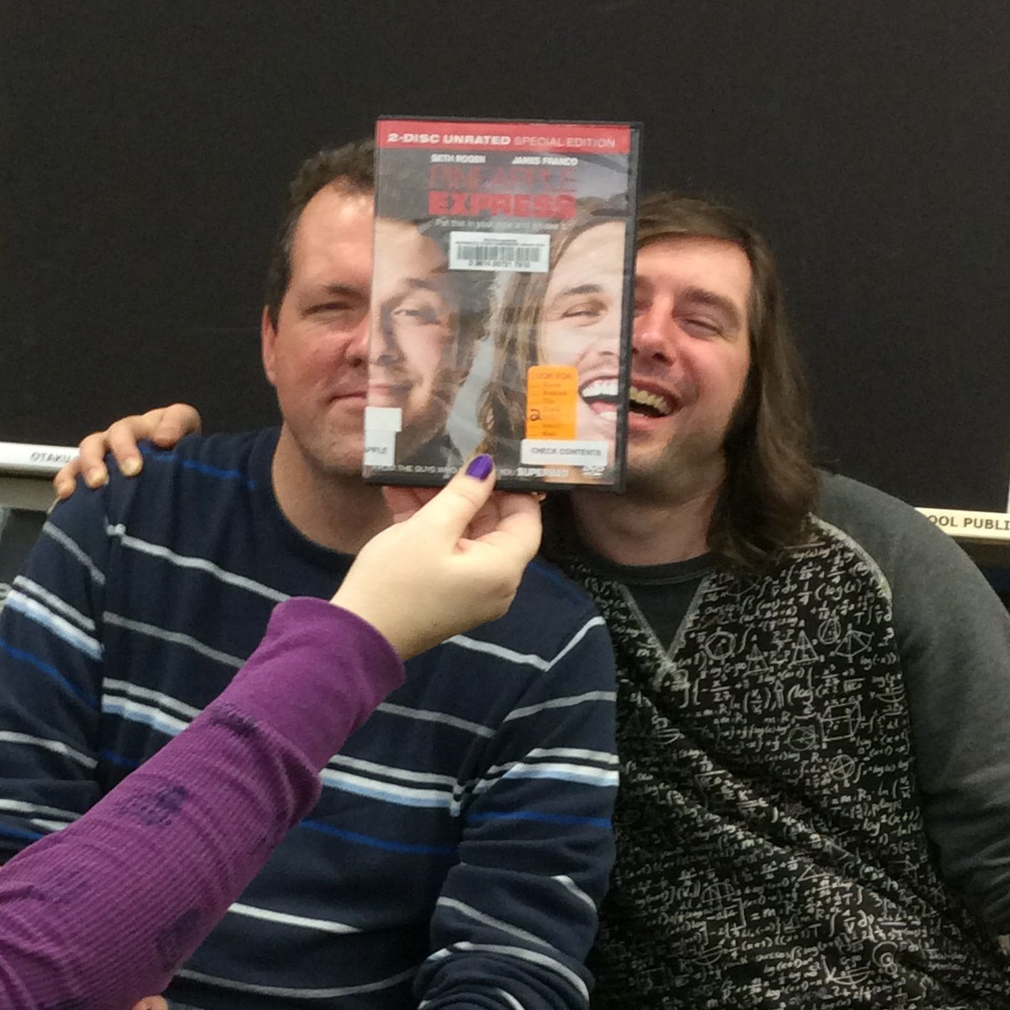 Pineapple Express, Bookface Friday