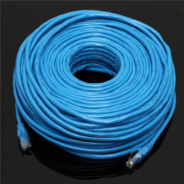 50M/164Feet RJ45 CAT6 CAT6E Ethernet Internet LAN Wire Networking ...