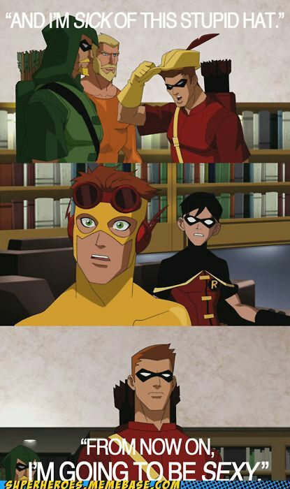 Young Justice One Shots / Imagines - Red Arrow | Funny