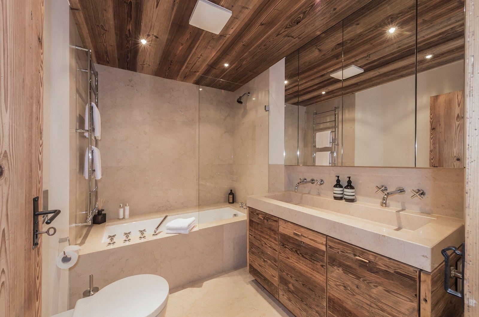 Eines Der 4 Badezimmer Im Bauernhaus Filzerhof In Tirol