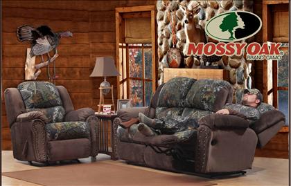 Camo Reclining Sofa Mossy Oak Camouflage Reclining Sofa