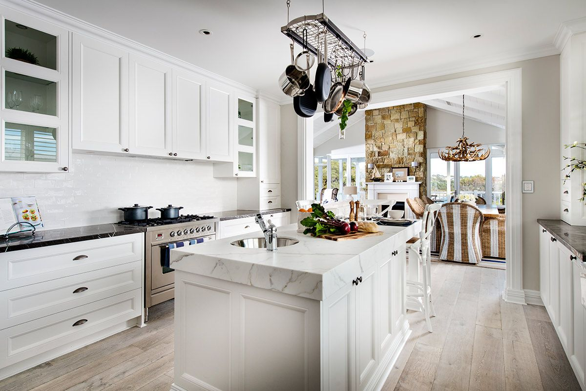 Hampton Style Kitchen Designs Amazing Doors And Panels In Polytec 21Mm Keimbah Thermolaminated Classic Inspiration Design