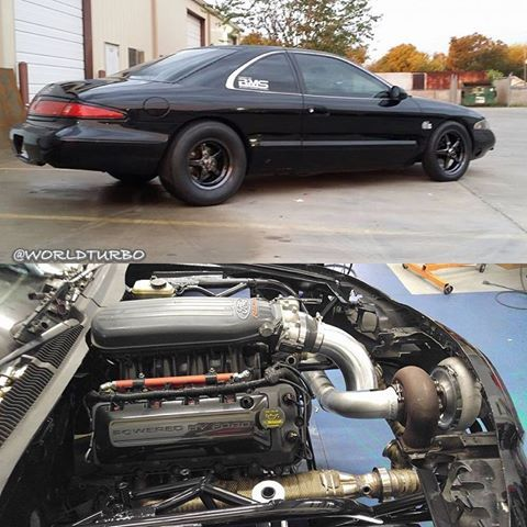 Bobby Underwood 1998 Lincoln Mark Viii With A Turbo Coyote Motor