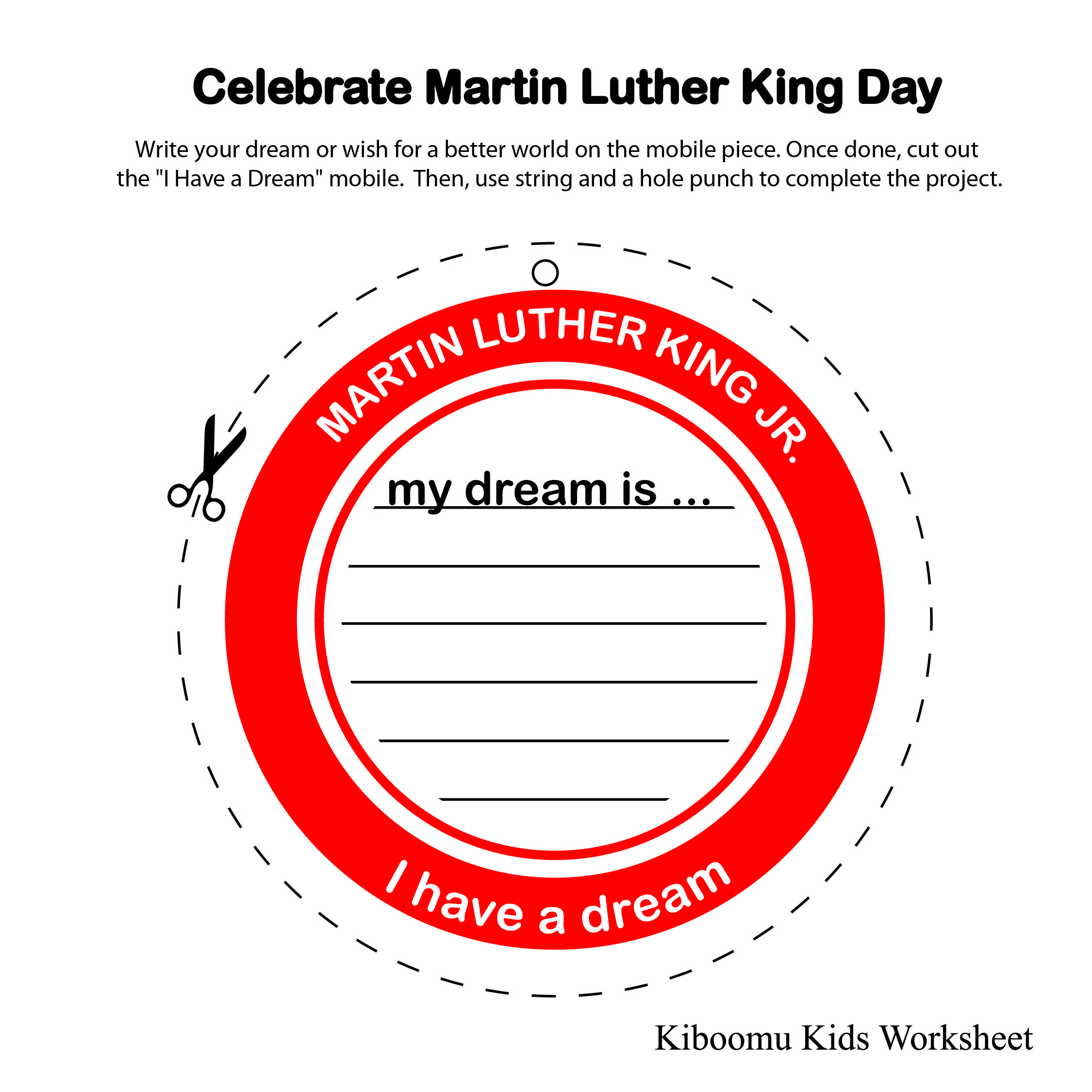 Martin Luther King Jr Printable Free
