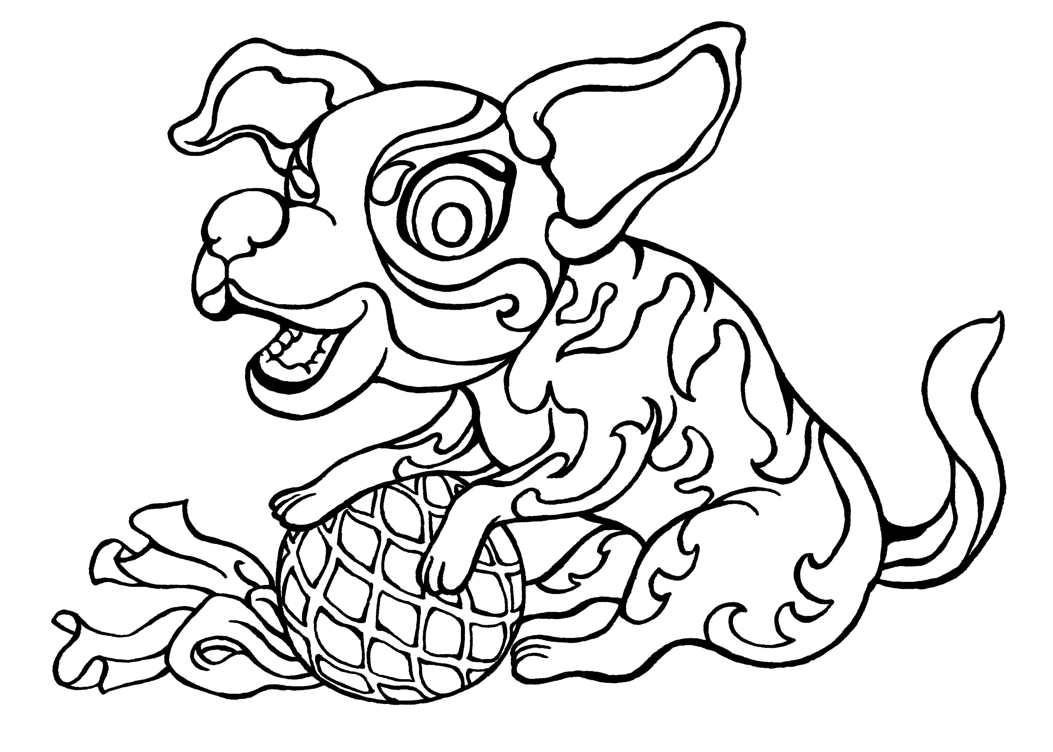 Year Of The Dog Free Colouring Sheet From Snowflake Books S