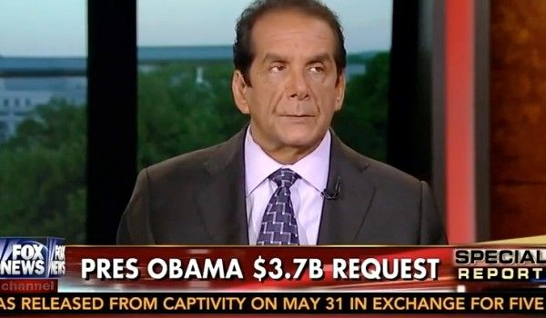 Krauthammer: Sending Unaccompanied Kids Back on Buses Will Send a Message to Not Risk Lives....7/15