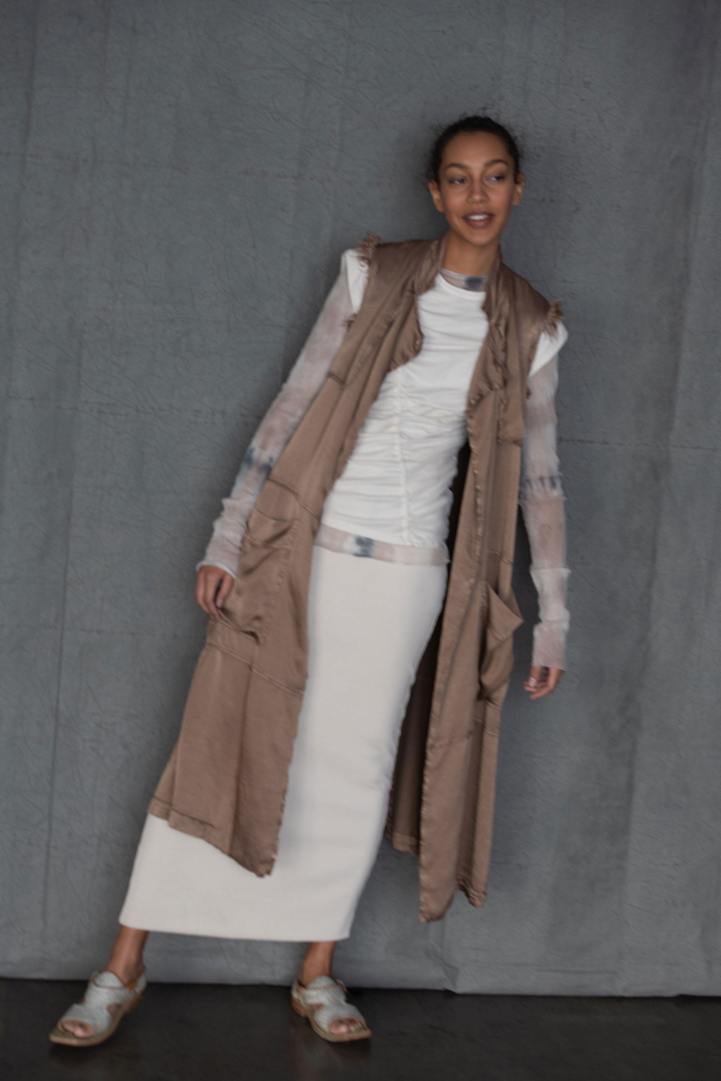 99c9b4fad9c6 Raquel Allegra Pre-Fall 2019 Fashion Show | Fashion shows - Pre-Fall ...