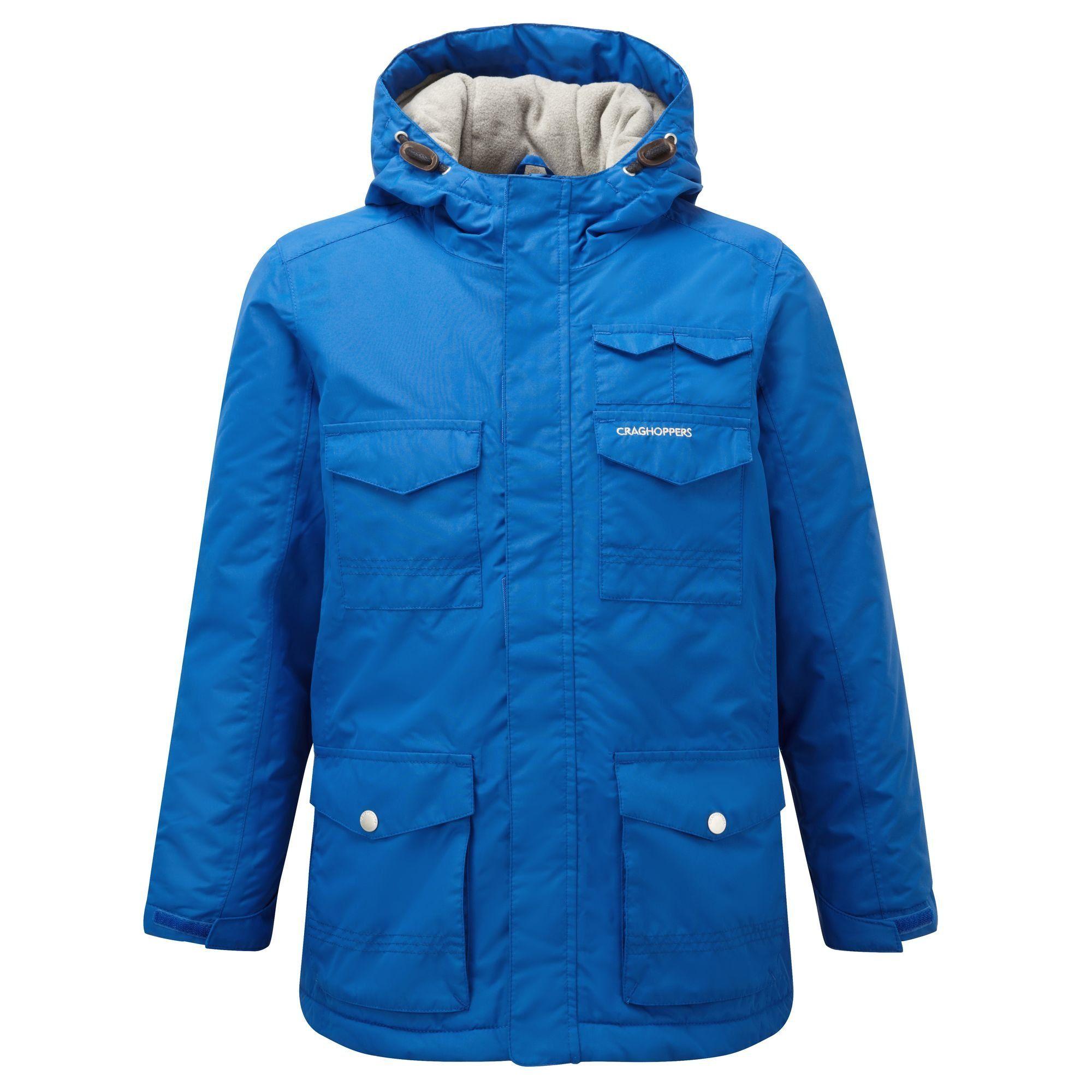 c72fc5174816 Craghoppers Childrens Kids Alix Waterproof Jacket (13 Years) (Deep ...