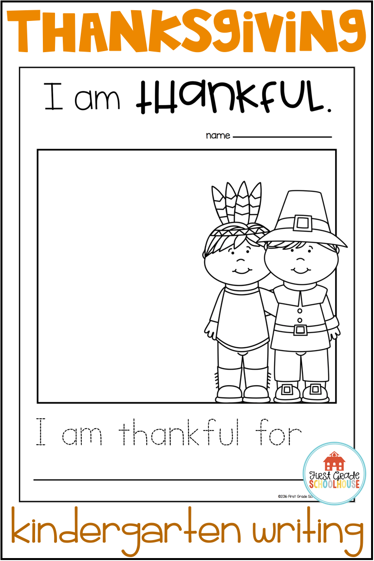 Your Students Will Have Fun Writing During November With These Thanksgiving Writin Thanksgiving Kindergarten Kindergarten Writing Thanksgiving Writing Activity [ 1152 x 768 Pixel ]
