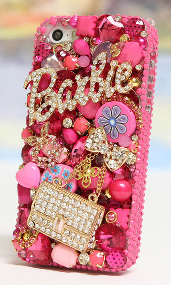 Barbie and Purse 3D design - Bling iPhone 5 6cca202535