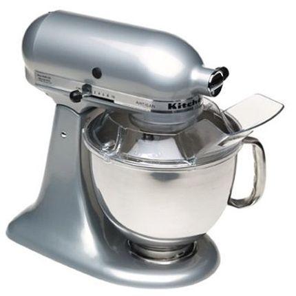 Metallic Chrome Kitchenaid Artisan Mixer Kitchen Aid Mixer