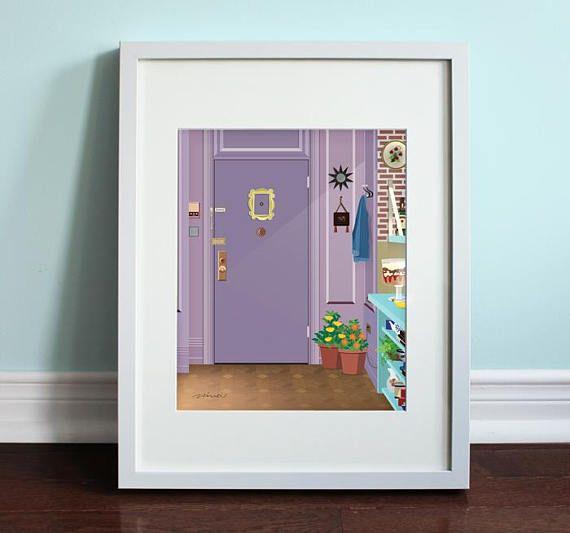 Monica\'s Apartment Front Door Friends Friends TV Show | Beautiful ...