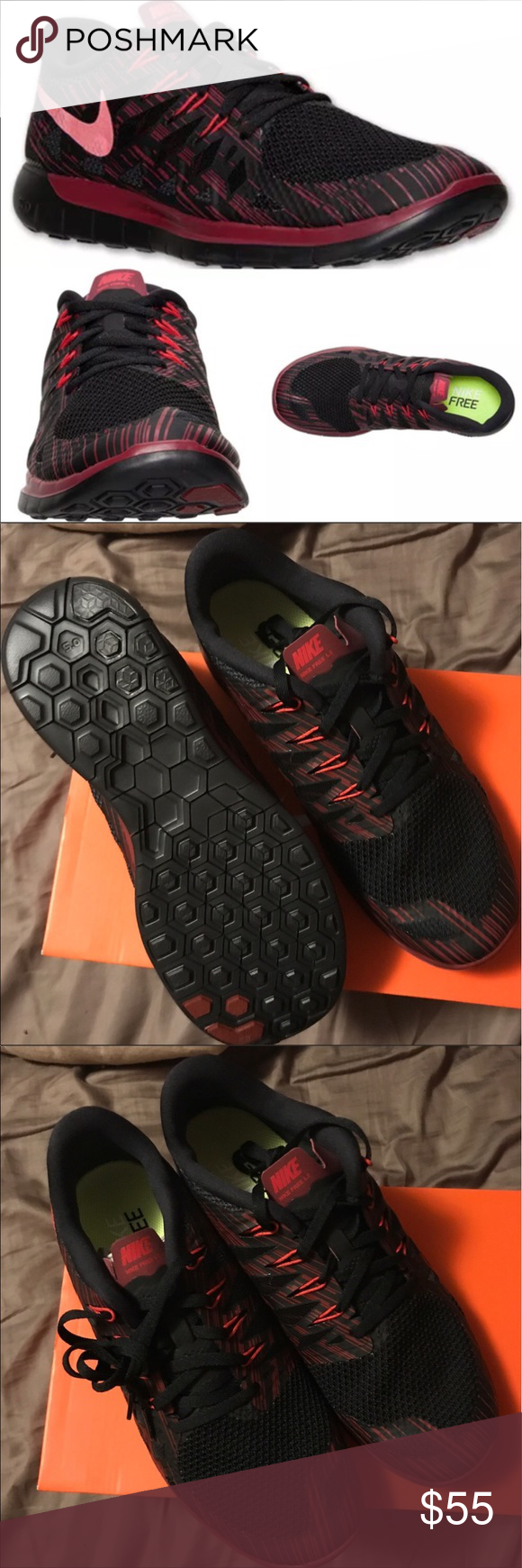Men's Nike 5.0 Premium Running Shoes Brand new 5.0 Nike Premium is the trainer which is perfect for outdoor activities. Leather upper ensures durability and synthetic outsole provides efficient traction on rough surfaces. Nike Shoes