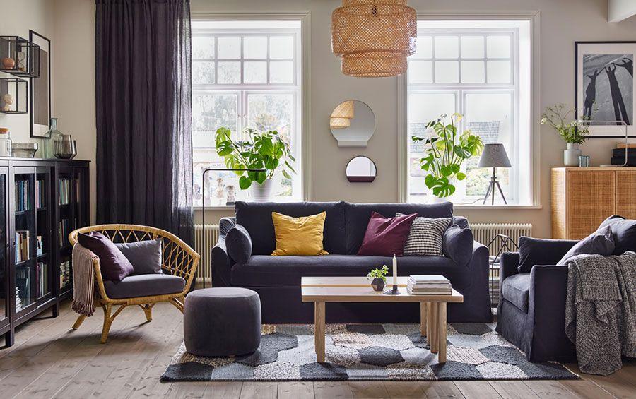 Soggiorno Ikea Moderno : Arredare il soggiorno con ikea tante idee per diversi stili