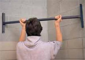 Tc Sports Corner Mounted Chin Up Pull Up Bar Weightlifting Pull