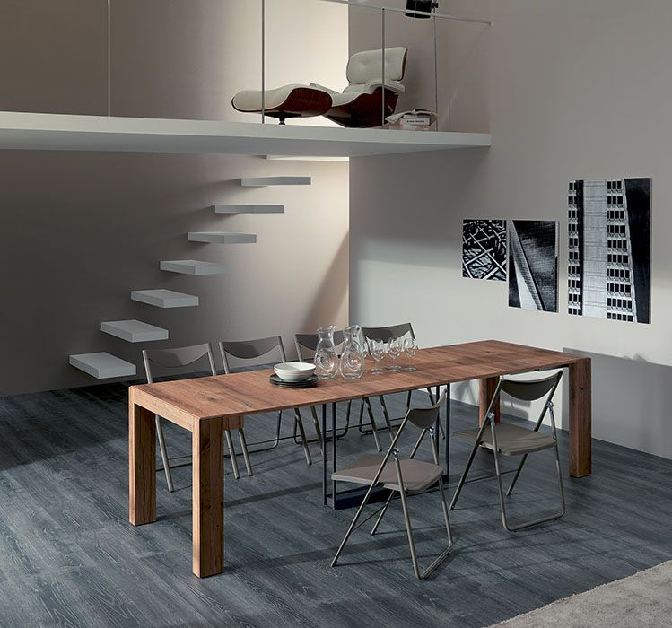 Consolle Glass Ozzio.Transformable And Extendable Tables Modern Chairs Design