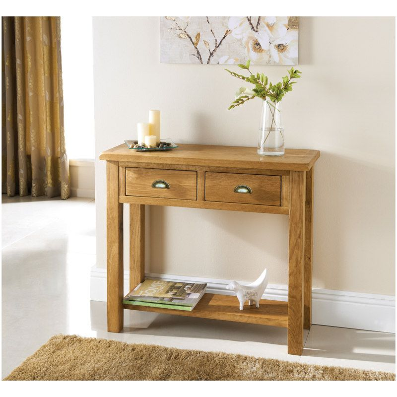 Wiltshire Oak Console Table Oak Console Table Console Table