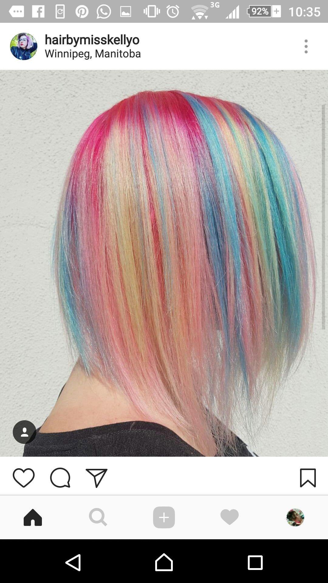 Pin by teresa savage on hairstyles pinterest hair dye hair