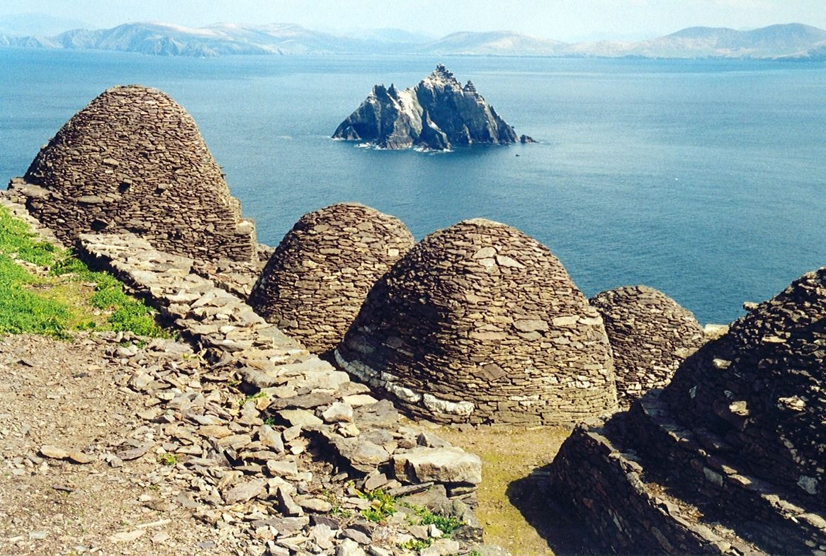 """Arian Zwegers, """"Skellig Michael, beehive cells and Small Skellig."""""""