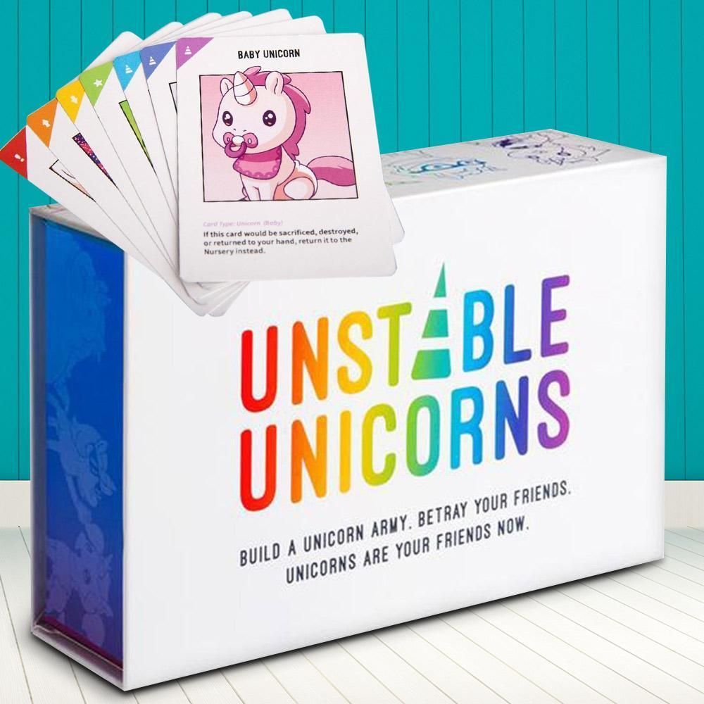 Unstable Unicorns Card Game Brand New