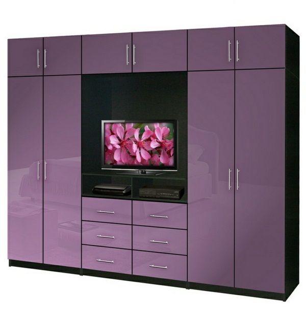 d co int rieur pourpre tv placard couleur pourpre blanc fond blanc d co int rieur pourpre. Black Bedroom Furniture Sets. Home Design Ideas