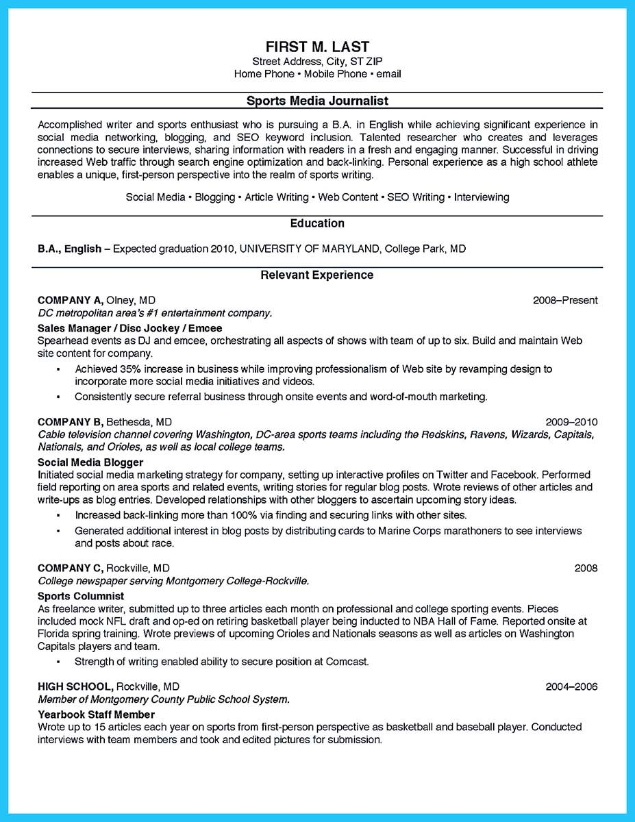 cool Best Current College Student Resume with No Experience, Check ...