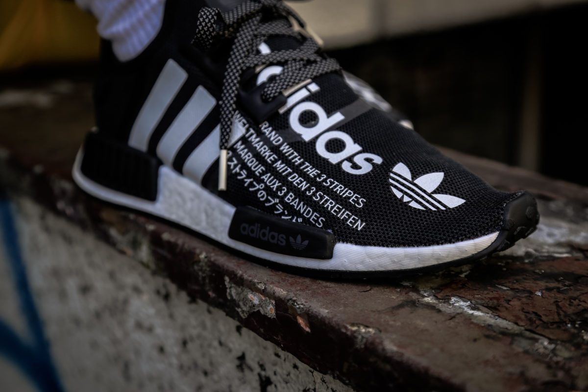a5d264585 atmos adidas nmd r1 black white collab collaboration new sneakers november  17 2018 fall winter images pictures on feet release date info details