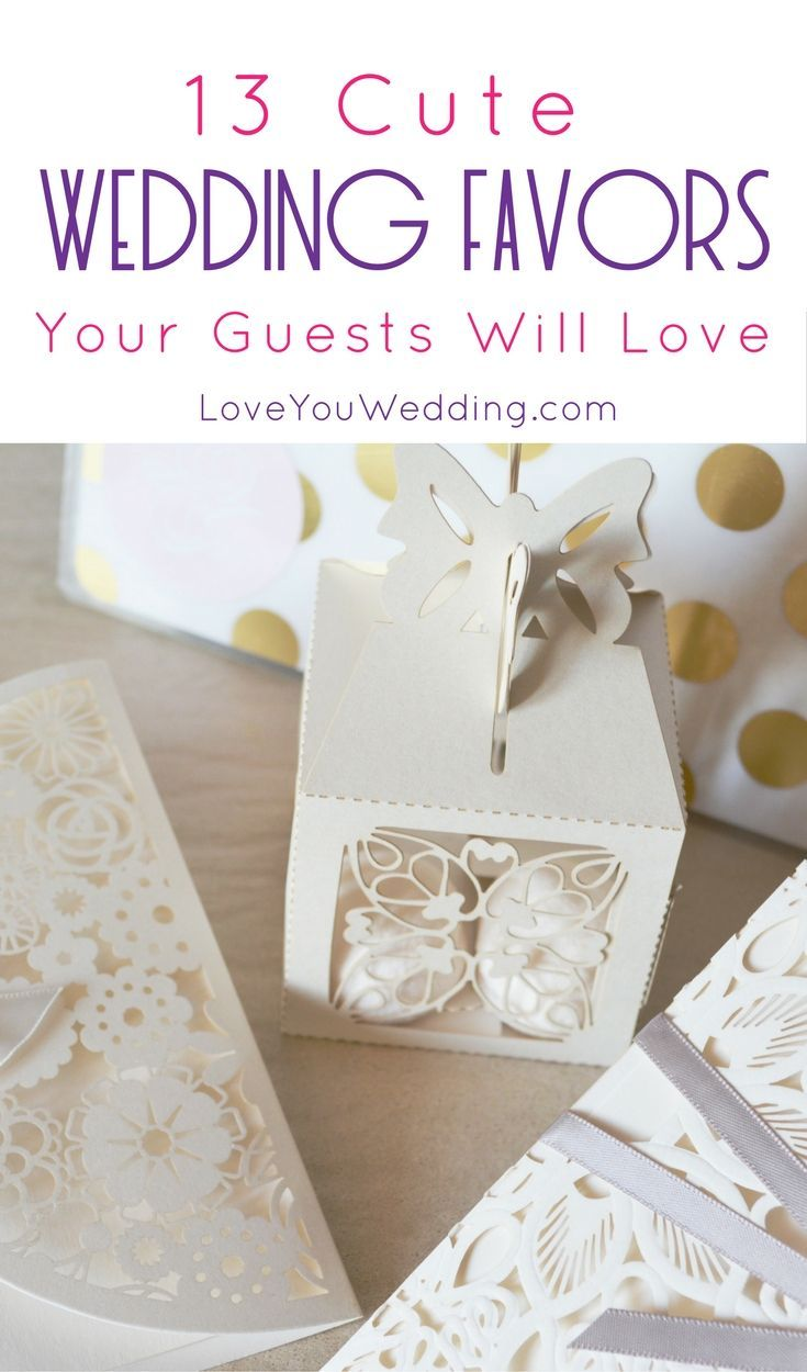 Want to make sure your guests remember your big day as fondly as you ...