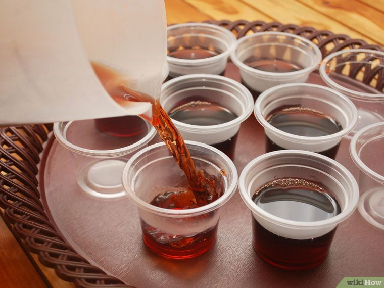 How to make rum and coke jello shots 9 steps with