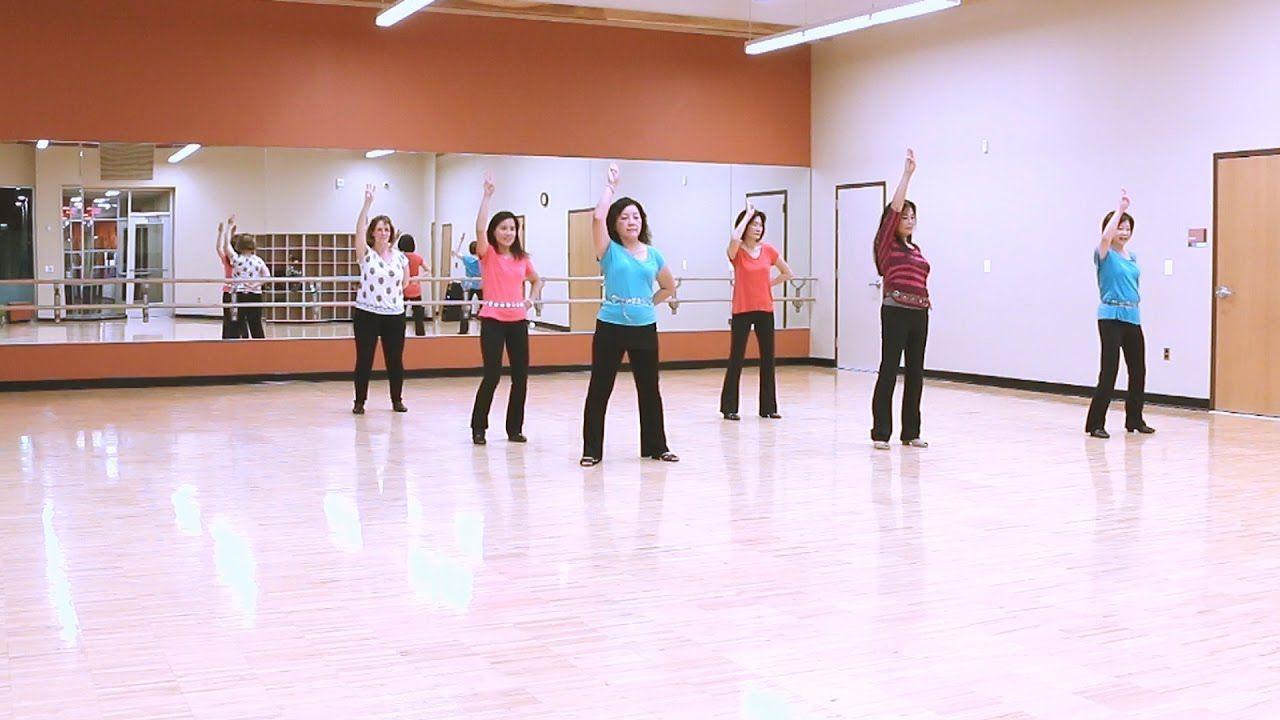 Pom Poms Line Dance Dance Teach Youtube Dance Teaching