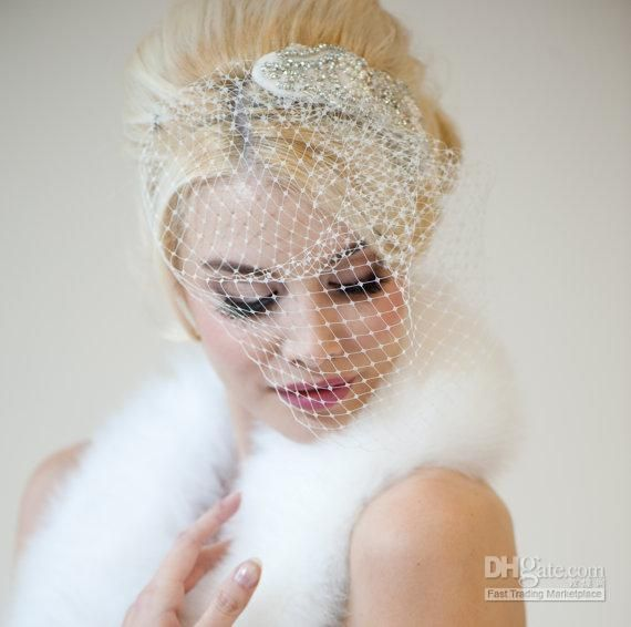 Wholesale Mother of Groom Dresses - Buy High Quality 2014 Beauty Design Bridal Hats Clip Feather Headwear Birdcage Bridal Veil Wedding Dress 16, $20.13 | DHgate