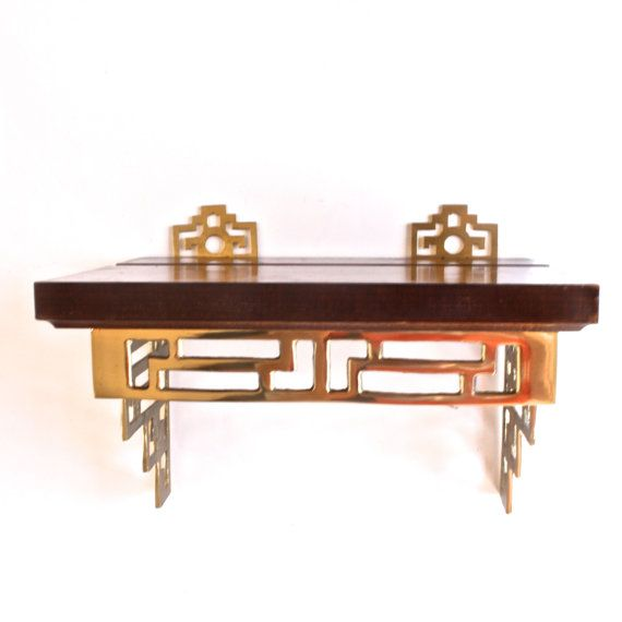 Asian style wall shelf
