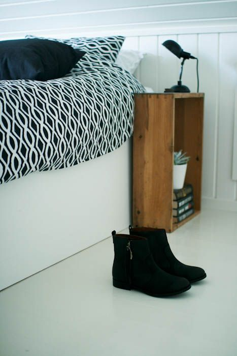 Klar For Et Bilderas Bedside Table Small Space Diy