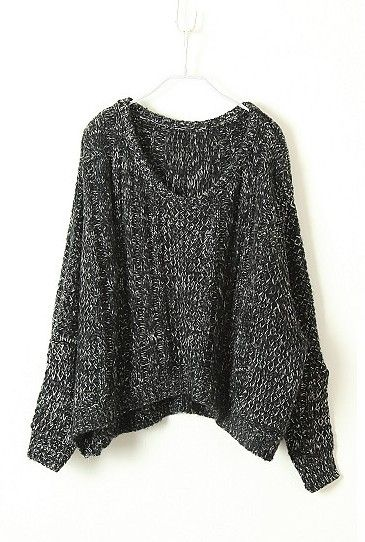 f590fae41858 The perfect slouchy sweater. Wear it with loose pale blue jeans and converse  for a casual look. Or dress it up with dark skinny jeans and a pair of  black ...