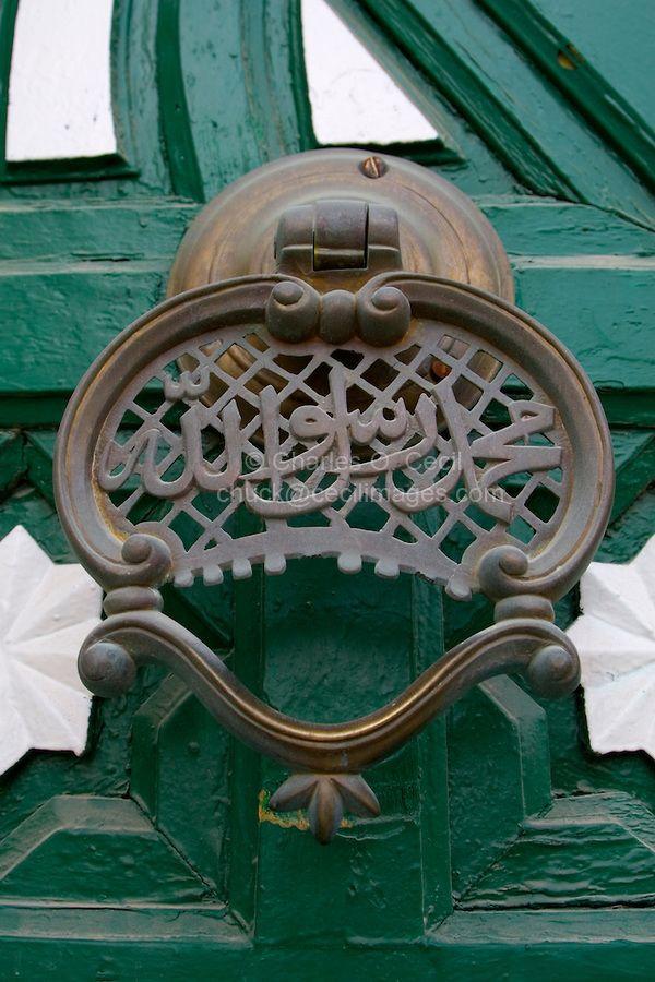 Tripoli, Libya - Door Knocker, Gurgi Mosque by © Charles O. Cecil