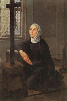 Santa Ângela Mereci (27 de Janeiro) - freira italiana, cresceu em oração depois da morte de sua irmã, fundada Ursulinas.