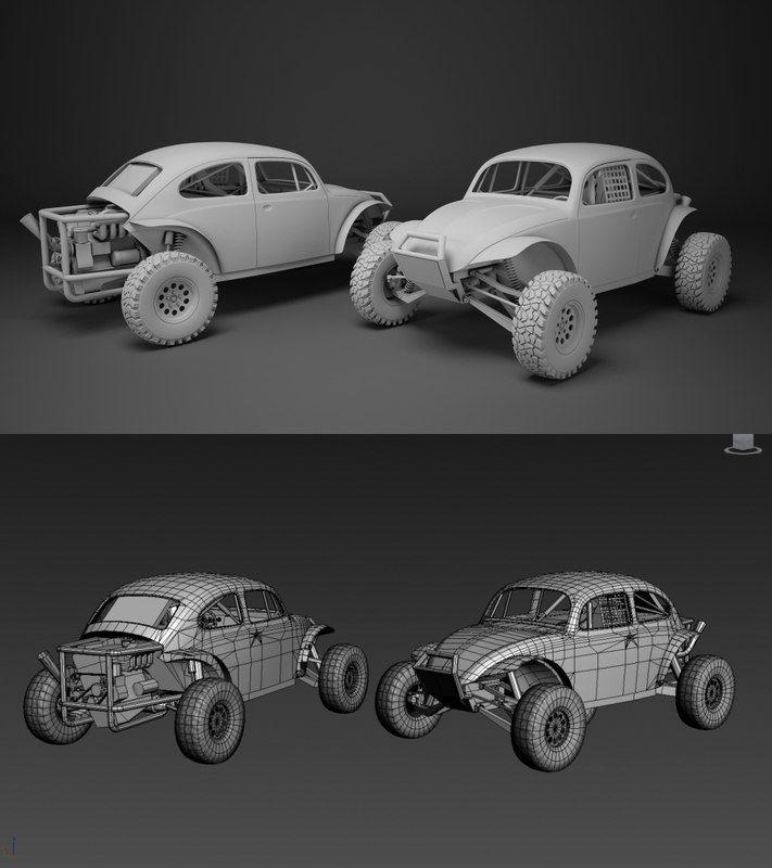 Best 3D Model Buggy 3 D 400 x 300