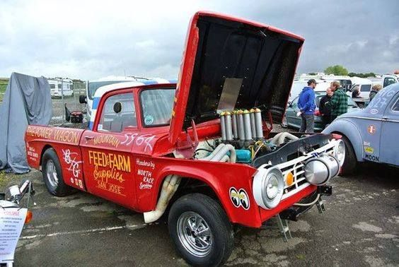 1965 71 Dodge Drag Truck The Power Wagon Old Dodge Trucks Dodge Pickup Trucks Classic Chevy Trucks
