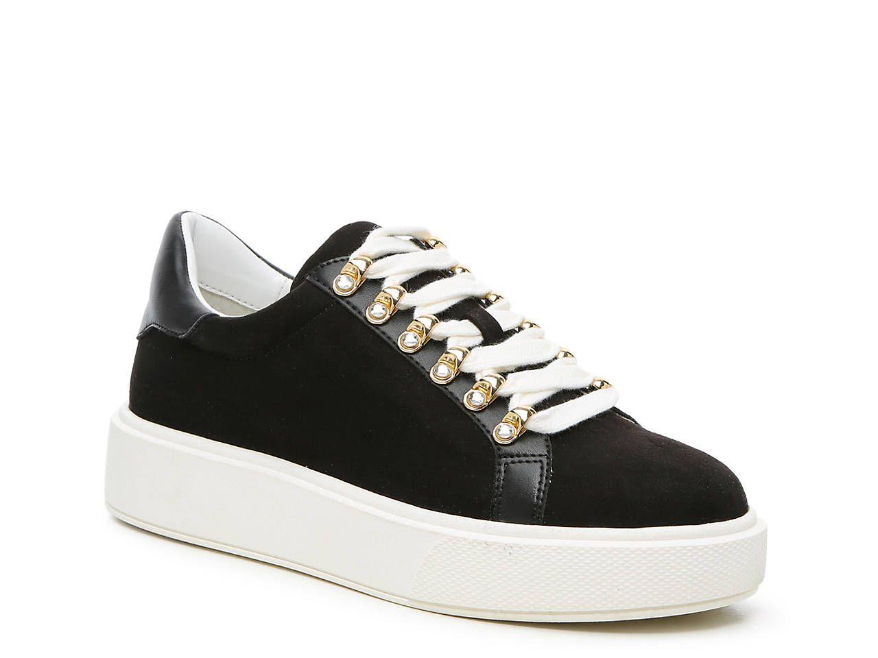 white platform sneakers dsw