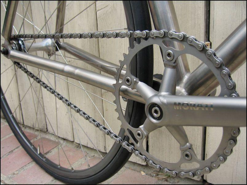 merlin titanium track bike (2) | mechanical beauty | Titanium bike