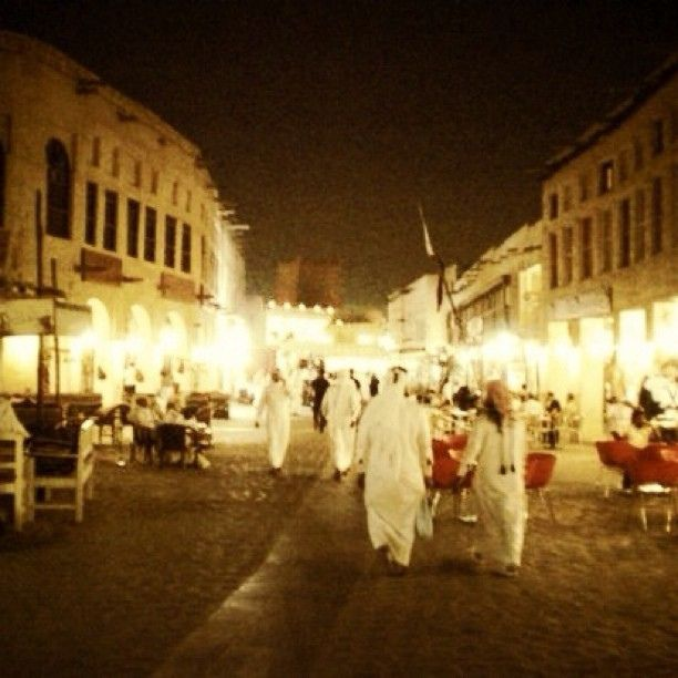 Souq Waqif during Ramadan