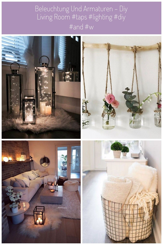 Beleuchtung und Armaturen  Diy Living Room  deko Beleuchtung und Armaturen  Diy Living Room